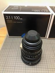 Schneider Xenon FF Prime T2.1 100mm 公制 PL全片幅鏡頭 電影鏡頭