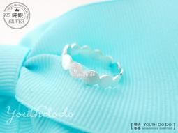 925 純銀戒指~霧面銀線雪球綿綿可調式純銀戒指SMR 373 ╮柚子多多╭