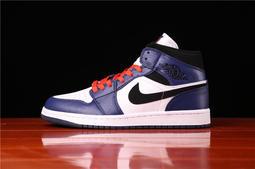台大運動--NIKE air Jordan 1 Mid 耐吉 喬丹1代 百搭運動鞋 滑板鞋男鞋 女鞋 走路鞋 休閒鞋