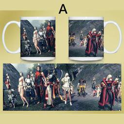 劍靈遊戲Blade & Soul 3款彩印馬克杯 客製化陶瓷杯 咖啡杯 情侶杯 可來圖訂做