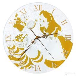 【移動漢堡】愛麗絲 時鍾 迪士尼 官方 正版 夢遊 Alice 掛鐘 鏡面 時光怪客 紀念