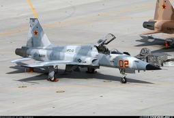 """~紙模型~F-5E""""虎""""2輕型戰鬥機紙模型檔案"""