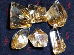 6選1純天然水晶之王紅銅鈦鈦晶多黃金絲不規則隨形吊墜墬子掛件項鍊玉佩掛墬珠寶玉石寶石首飾飾品