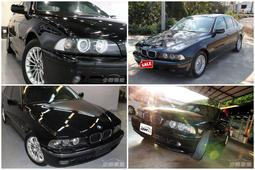~經營各種進口國產中車歡迎找我~ BMW E39 專賣店 520 525 528 530 黑白都有 可來電詢問