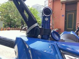 HTC RE 可調式彈性萬用機車行車紀錄器車架 機車管徑18 40mm