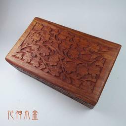 (售完)【福利品】花神手雕木盒 塔羅盒/卡牌盒/珠寶/首飾盒