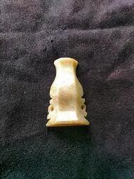 和田玉-花瓶-鑲飾-帽飾