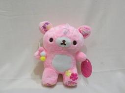 粉紅小熊布偶