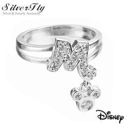 ~SilverFly 銀火蟲銀飾~Disney 迪士尼MR407 愛的見證銀墜飾戒指