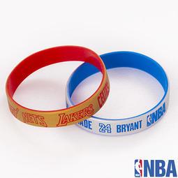 NBA健康紀念手環(金+銀)