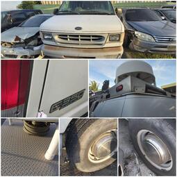 ford E350  零件拆售