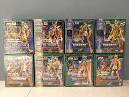 收藏美品釋出 聖鬥士星矢 聖衣神話 海鬥士8支一套 日初版全新未拆 非EX