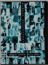 二手DVD: 艾拉妮絲莫莉塞特(Alanis Morissette)  Jagged Little Pill, Live
