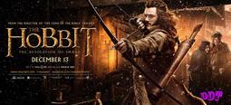 ddt 防水電影海報~魔戒哈比人02 :荒谷惡龍~The Hobbit The Desol