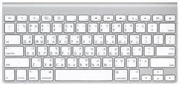 金禾蘋果Apple Wireless Keyboard G6 無線藍芽鍵盤膜硅膠Mac A