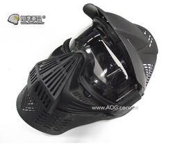 【翔準軍品AOG】鏡片-大型面具(黑) 護具 面具 面罩 護目 生存遊戲 周邊配件 E0210-1