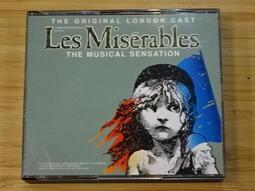 《啟元唱片》百老匯音樂劇 悲慘世界 倫敦首演版 LES MISERABLES THE ORIGINAL LONDON