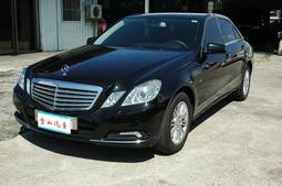☆雪山流當車權利車☆已出售 2010年 BENZ賓士 E250 2.0CC 黑色☆一流車況☆