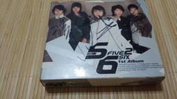5566 首張同名專輯 簽名版 CD+VCD ☆近八成新☆ 神話 一光年 無所謂 我難過