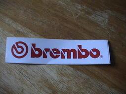Brembo 原廠 車身標誌 / 貼紙