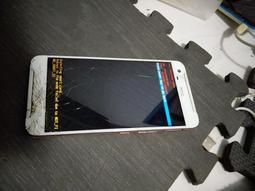 HTC-X9 X9U可充電,可開機,螢幕破。商品如圖,零件機販售,售出不退