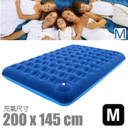 RV城市【CampLife】送電動幫浦》美麗人生充氣床墊M(200x145cm)獨立筒睡墊(內建手打幫浦) 24110