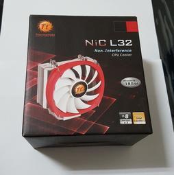曜越 Thermaltake NiC L32 14公分風扇 銅導管塔扇 CPU 塔型散熱器 Intel AMD 塔散
