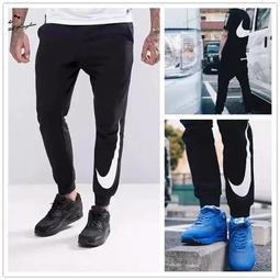 預購 NikeLab 豎標大logo 大勾 男 Jogger HYBRID Black NIKE 運動 束口長褲 黑色