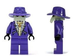 樂高王子 LEGO 5984 2010年 絕版 太空警察3 夜光 骷髏 紫色 絕版 (B-024) 缺貨中