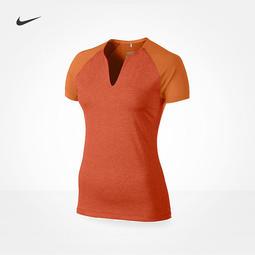 Nike 女子短袖高爾夫排汗上衣M L