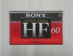 SONY空白 錄音帶未拆封 60分鐘 每卷30元