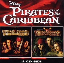 正版全新CD~神鬼奇航 1+2 鬼盜船魔咒 加勒比海盜 電影原聲帶