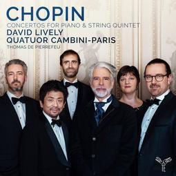 合友唱片 蕭邦 第一第二號鋼琴協奏曲(室內樂版) 大衛·里夫利 鋼琴 巴黎-坎比尼四重奏 CD
