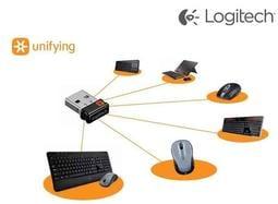羅技Unifying 接收器無線滑鼠鍵盤一對多連線2 4 GHz USB Logitech