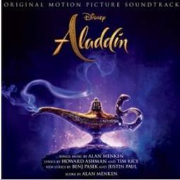 阿拉丁-電影原聲帶 (台壓)Aladdin-OST  [CD 電影配樂] 2019/5/31
