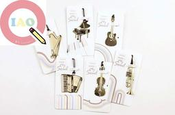 """2/"""" x 2/"""" 400 Violin Stickers in roll of 100 modules each sticker 1.15/"""" RM6602"""