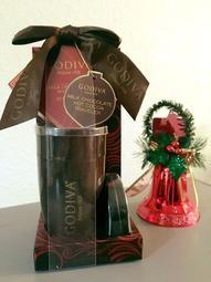 限量 Godiva 陶製隨行熱飲杯 內含牛奶巧克力粉 尾牙抽獎