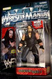 1998 美職摔角 WWF WRESTLE MANIA UNDERTAKER  送葬者  馬克 威廉  富貴玩具店