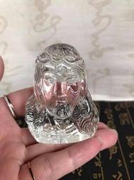 現貨 立體雕刻水晶工藝品 耶穌擺件 K9料水晶