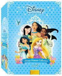 合友唱片 迪士尼公主典藏套裝 2 (阿拉丁/風中奇緣/花木蘭/公主與青蛙/魔髮奇緣) DVD