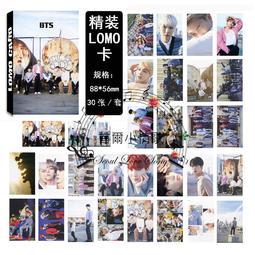 【首爾小情歌】BTS 防彈少年團 團體款 V 田柾國 JIMIN LOMO 30張卡片 小卡組#12