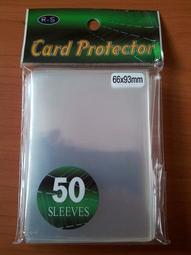 【樂遊wow】遊戲王 第三層 透明卡套50枚 66*93mm