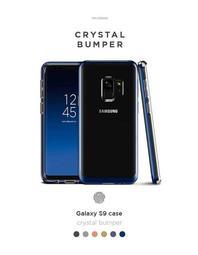 VRS Galaxy S9 S9 Plus Crystal Bumper 雙層邊框防撞保護