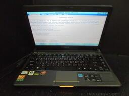 宏碁 acer Aspire AS3810TG/CPU U3500/硬碟500G/DDR3 4G