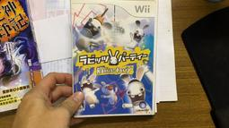 Wii.RABBIDS PARTY.雷曼兔派對 Wii 日版光碟 雷射超人 瘋狂兔子派對 25S