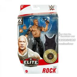 [美國瘋潮]正版WWE The Rock Elite #81 Figure 巨石強森SD一夜限定回歸造型最新精華版人偶