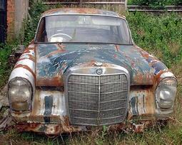 專收 各種老賓士 事故車/廢車(代辦進口老車)