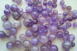 天然紫黃晶球低價供應不挑球每公克5元,聽說上班族及學生必備?!