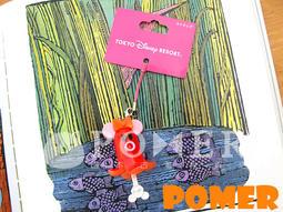☆POMER☆日本東京迪士尼樂園正品已絕版 趣味創意設計 米妮 香腸 熱狗 鑫鑫腸 章魚造型 立體公仔 手機吊飾 聖誕節