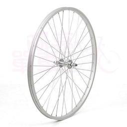 【阿亮單車】26吋淑女車鋁合金前輪,自行修補的好選擇,銀色《A20-005》